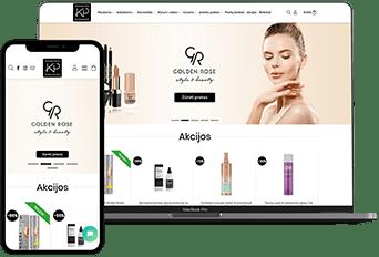 Kosmetikos parduotuve